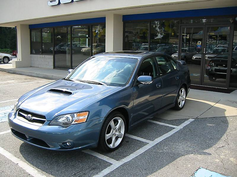 Kevin's 2005 Subaru Legacy GT. Kevin's Legacy GT